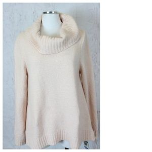 Style&Co Plush Chenille Cowl Neck Sweater